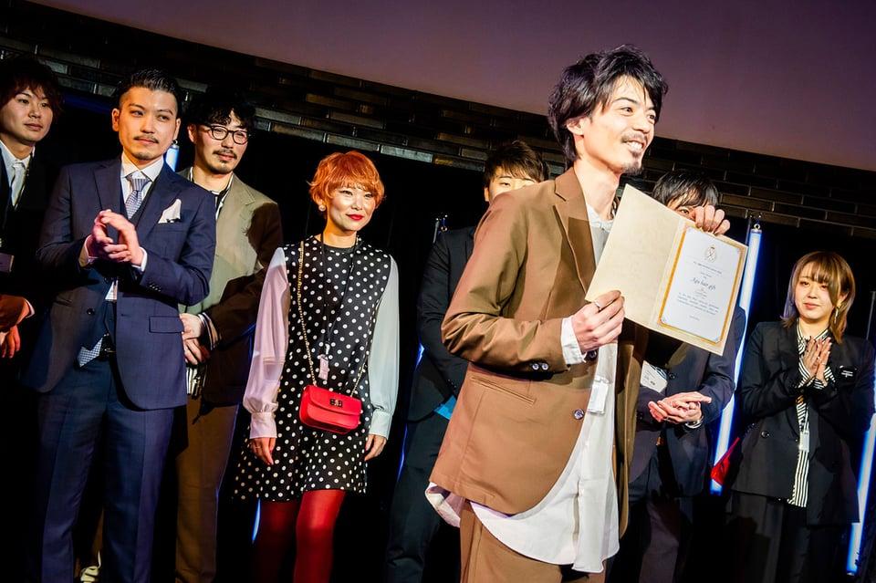 Agu.award表彰式